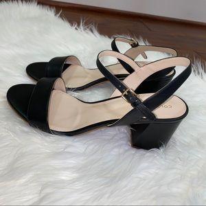 New Cole Haan Josie Block Heel Black Size 10.5